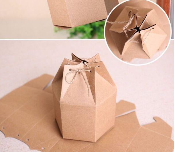 Boite ronde en carton