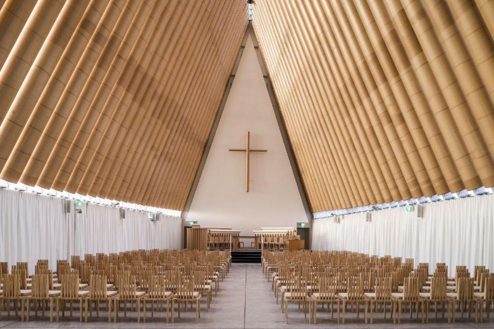 Eglise en carton