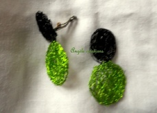 Boucle d'oreille anis (PV 25€)