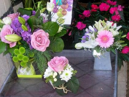 petites compositons florales