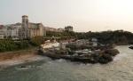 vue du port des pêcheurs de Biarritz