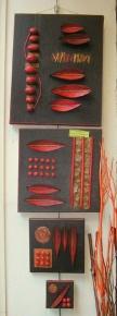 Série de 4 toiles en acrylique (vendu)