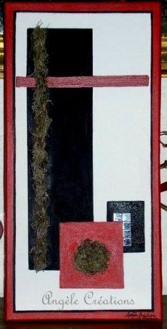 Tableau Dans le style Mondrian