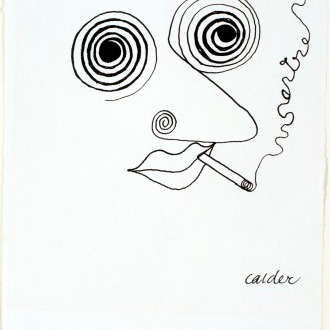 Autoportrait de Calder