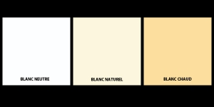 Blanc neutre - Blanc naturel - Blanc chaud