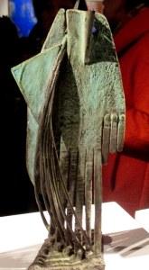 sculture vert de gris de CHAHAB