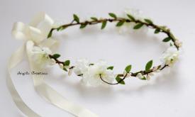 Couronne de fleurs fraiches ou tergal (à partir de 55€)partir de