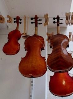 Différentes tailles de violons