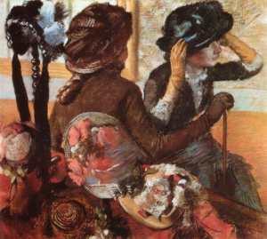 La modiste vu par Degas