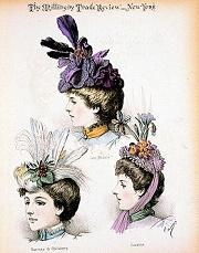 Dessins de chapeaux anciens