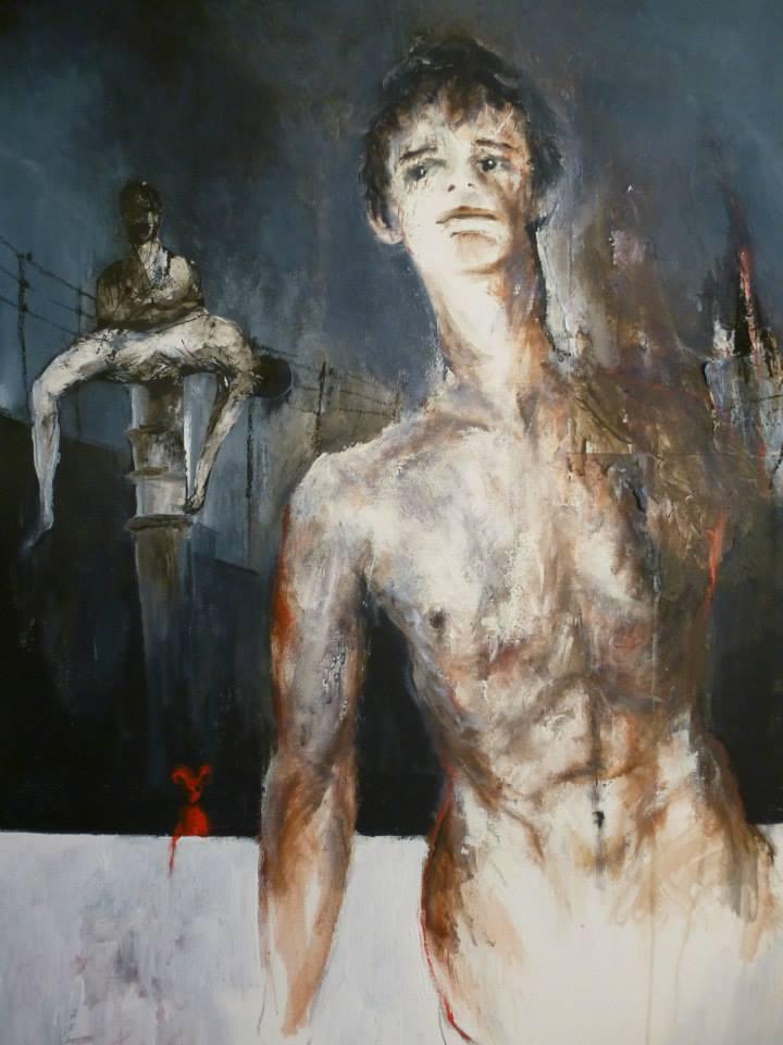 Nicolas Fropo de Habart autoportrait