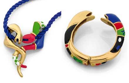 Bijoux de Niki de St Phalle
