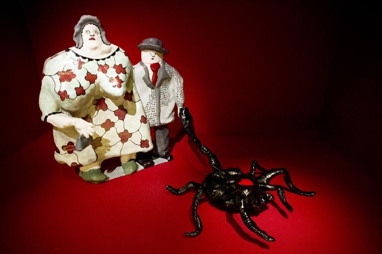 Couple vu par Niki de St Phalle