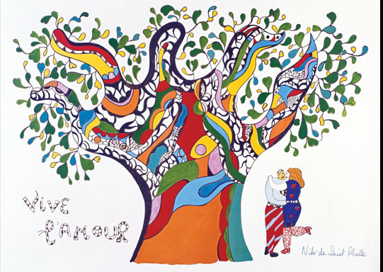 Arbre de vie de Niki de St Phalle