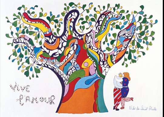 Niki-de-Saint-Phalle arbre de vie