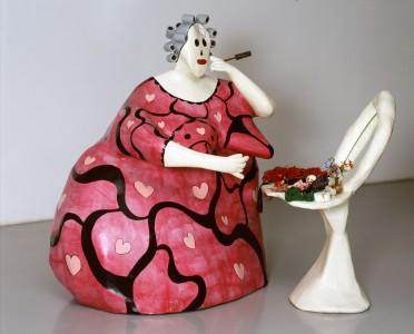 La toilette de Niki de St Phalle