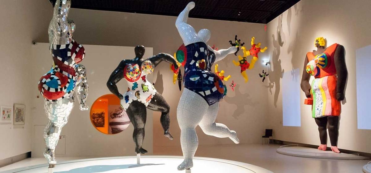 Les Baigneuses de Niki de St Phalle
