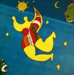 toile de Niki de St Phalle