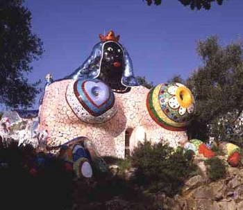 L'impératrice de Niki de St Phalle