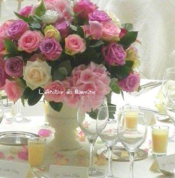 Énorme bouquet de différentes #roses