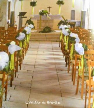 #Décoration centrale des bancs d'église