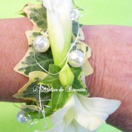 Bijoux en fleurs naturelles Bracelet floral