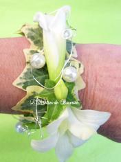 Bracelet floral(à partir de 45€)