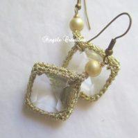 Boucles d'oreille en cristal