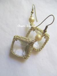 Accessoires Boucles d'oreille en cristal