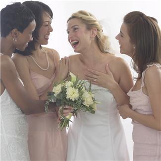 Mariée et ses témoins