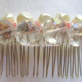 Accessoires de cheveux , peigneperlé