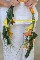 Bouquet de mariée en arceau