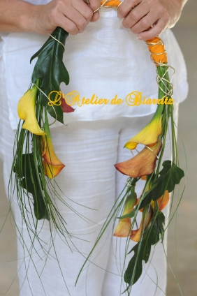 Bouquet de mariée en arceau (à partir de 120€)