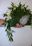 Eventail sac de la mariée