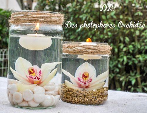 bocaux garni fleur/bougie/galets