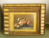 Cadre fait en carton peint