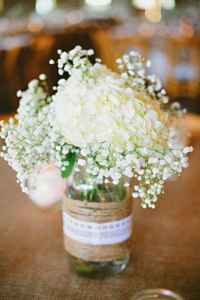 bouquet de table /marque place