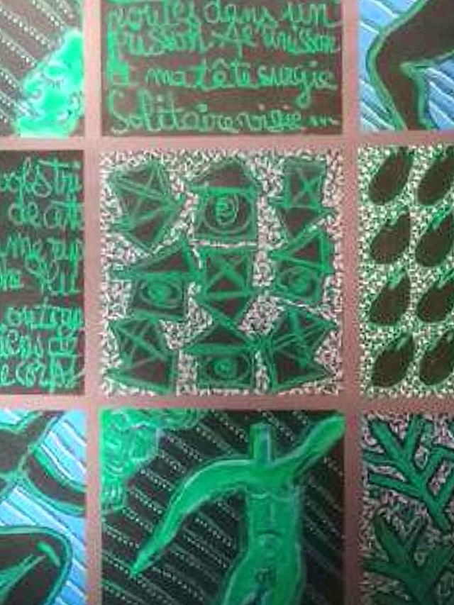 Patwchork vert