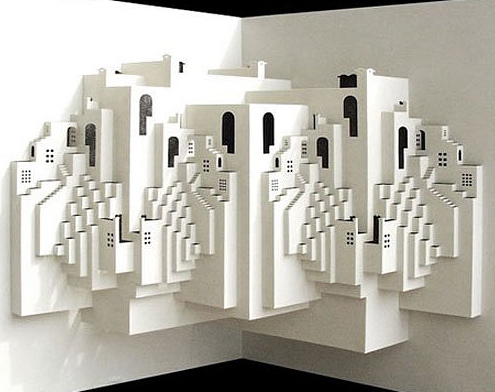 sculpture en papier