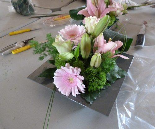 Atelier adulte art floral de printemps