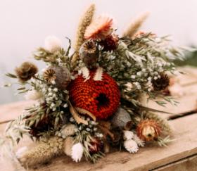 Bouquet classique de flerus séchées