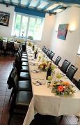 Table de fête fleurie