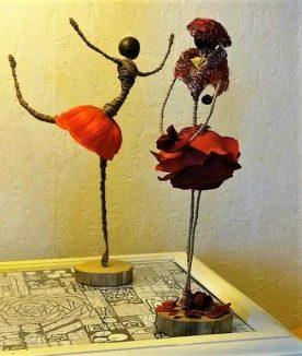 Poupées en fleurs