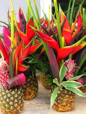 "Ananas en ""fleurs"""