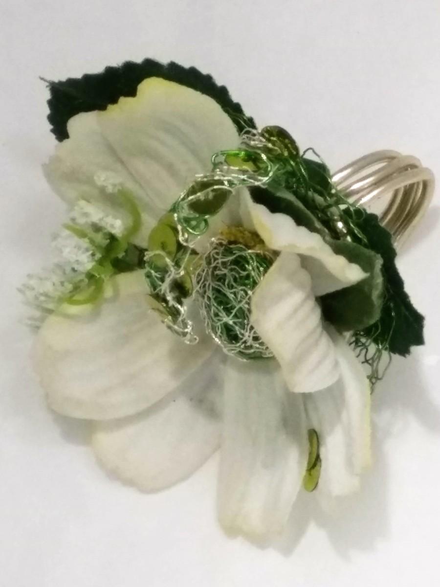 bague florale