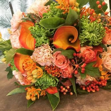 Bouquet acidulé aux couleurs d'agrumes