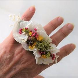 bague floral 2