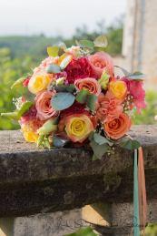bouquet peche abricot