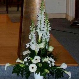 Composition florale /Devant d'autel