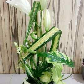 Composition florale pandanus